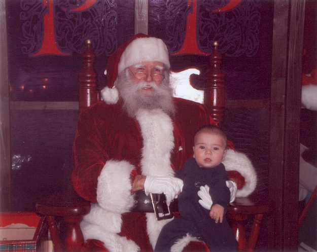Père-Noël au Complexe Desjardins